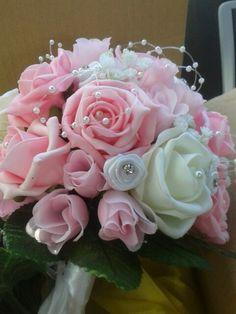 Bridesmaid bouquets sorted!