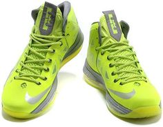 http://www.asneakers4u.com Nike Lebron 10 Fluorescent Green0