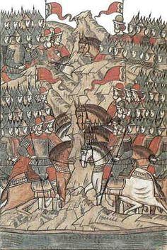 События XIV века. Перед Куликовской битвой
