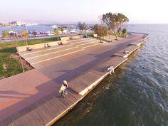 wooden-waterfront-deck.bridge-07 «  Landscape Architecture Works | Landezine