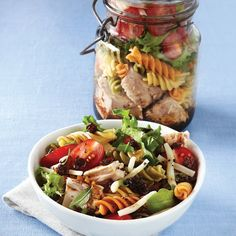 colorful pictures of healthy salads | Healthy Living Tips Community Board :: / Tri-Color Pasta Salad with ...