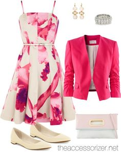 What to Wear to A Spring Wedding via theaccessorizer.net