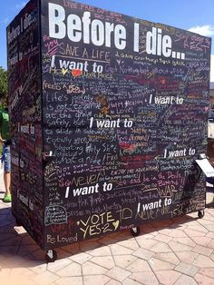Before I die I want to. eat every flavor of Ben&Jerrys ice cream! Keeping it real and concentrating on the important things in life; Great Life, Love Of My Life, Installation Interactive, Interactive Art, Daily Quotes, Life Quotes, Random Quotes, All The Bright Places, School Motivation