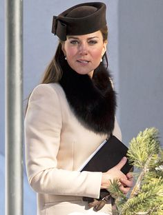 Kate Middleton's Wedding Style: Her Pillbox Hat Returns for Swiss Ceremony