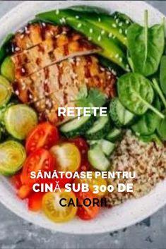 Dacă vrei să #servești o cină ușoară și săracă în calorii, nu #trebuie să te limitezi la o #salată simplă. Trebuie doar să combini ingredientele #potrivite. Descoperă trei rețete #sănătoase pentru cină sub 300 de #calorii!
