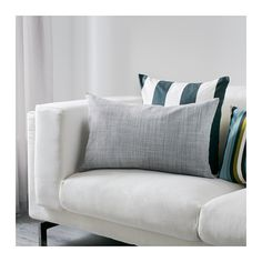 ISUNDA Cushion cover IKEA The cushion cover matches perfectly with several sofas and chairs in the IKEA range because it is made of the same fabric.