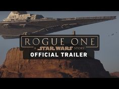 Rogue One: A Star Wars Story Trailer (Official). Watch the official trailer for Rogue One: A Star Wars Story, in which a group of unlikely heroes band together on a mission to steal the plans to the Death Star, the Empire's ultimate weapon of destruction. Rogue One Star Wars, The Rogue One, Diego Luna, Felicity Jones, Dc Movies, Movies Online, Cartoon Movies, New Trailers, Movie Trailers