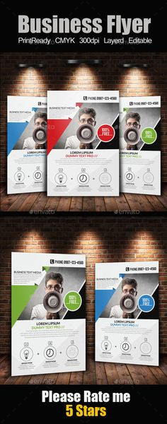 A4 Business Flyer Template #flyertemplate  Download: http://graphicriver.net/item/a4-business-flyer-template/12141243?ref=ksioks