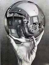 MC Escher, his artwork makes for quite the challenging puzzle!