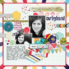 Be Yourself by Pixelily Designs, part of The Digi Files 94 for October 2016 https://thedailydigi.com/pixelily-designs-be-yourself Honeycomb {Dressed Up} by Fiddle-Dee-Dee Designs http://the-lilypad.com/store/Honeycomb-Dressed-Up-Digital-Scrapbook-Template.html Fonts are Howie's Stamps Lowfat, Bohemian Typewriter and Stamp Watch me scrap this layout: https://youtu.be/arvrH8sqDAE