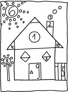 Math House Shape