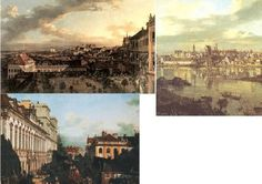 Destruction was so bad that in order to rebuild much of Warsaw, a detailed landscape of the city which had been commissioned by the government before the Partitions of Poland (18th century), painted by two Italian artists Bacciarelli and Canaletto who ran an arts school there, had to be used as a model.