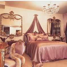 8 Cheap Things to Maximize a Small Bedroom Dream Rooms, Dream Bedroom, Rich Girl Bedroom, Room Ideas Bedroom, Bedroom Decor, Bedroom Modern, Royal Room, Cute Room Decor, Aesthetic Room Decor