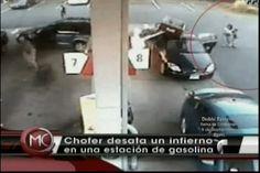 Se Desata Un Infierno En Una Estación De Gasolina En Boston
