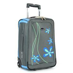 Troler LAMONZA Graffiti 51 cm albastru Suitcase, Graffiti, Collection, Briefcase, Graffiti Artwork, Street Art Graffiti