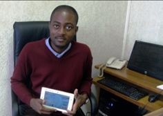 Arthur Zang is the 26-year-old inventor of the Cardio Pad, believed to be Africa's 1st medical tablet. It allows healthcare workers in rural areas to perform cardiac tests and send results to specialists via mobile phone connection. #innovation #changingthefaceofafrica #africansontop #enterpreneurs #hardworkpays #dreambig #kizaloungeandrestaurant #dubai #myafrica #mydubai