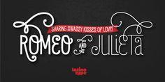 Romeo - Webfont & Desktop font « MyFonts