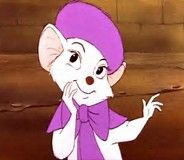 Miss Bianca, a mouse character voiced by Eva Gabor in two Disney animated features: 1977's The Rescuers and its sequel 1990's The Rescuers Down Under