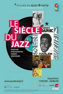 affiche de l'exposition le siècle du jazz