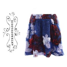 """Anthropologie Cobalt & Crimson Blossom Print Skirt Fun & flirty female fatale skirt from Anthropologie. -Edme & Esyllte By Anthropologie -Size Small -Measurements (Laying Flat): Waist: 26"""", Hip: 32"""", Length: 16.5"""" -2 Exterior Side Front Pouch pockets -Elastic Waistband. -Machine Wash Cold With Like Colors. Tumble Dry Low. -Imported -Completely Lined -Shell: 100% Cotton & Lining 100% Cotton.        Check out my seller discount & bundle to save money! Also, ask about discount shipping…"""
