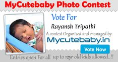 Vote For Rayansh Tripathi - MyCuteBaby Photo Contest