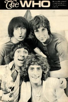 The Who 1969 Japan