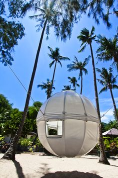 When I think about camping, uncomfortable mattresses, dirt and mosquito bites come into my mind, but I've always been dreaming of a tree house since I was a little kid. The Cocoon Tree Tent takes care of that problem and designed this spherical mobile tree tent for camping, which can travel with you and be hung up into the trees. It's a 120 kg aluminium sphere structure covered with a tarpaulin. It's intended to be hung in the trees by ropes and is accessed by nets that also provide…