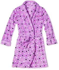 Calvin Klein Girls 7-16 Multidot Robe