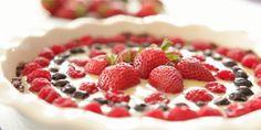 Patriotic no-bake dessert, perfect for 4th July, Bastille Day or Jubilee celebrations!