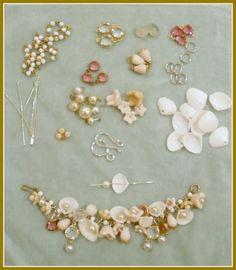Shells & pearls bracelet  #handmade #jewelry #DIY #craft