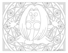 Free printable Pokemon coloring page-Jynx . Visit our page for more coloring! Coloring fun for all ages, adults and children. Pokemon Coloring Pages, Coloring Book Pages, Printable Coloring Pages, Boy Coloring, Coloring Pages For Kids, Coloring Stuff, Colorful Drawings, Colorful Pictures, Papercraft Pokemon