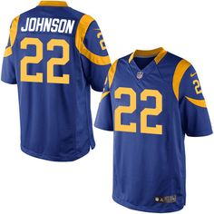 $24.99 Men's Nike Los Angeles Rams #22 Trumaine Johnson Limited Royal Blue Alternate NFL Jersey