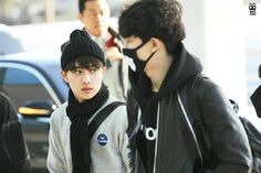 K Pop, Park Chanyeol, Exo, Goofy Smile, Airport Style, Airport Fashion, Chansoo, Incheon, Kyungsoo
