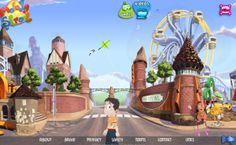 """Fun games for the SMART board! Especially love the """"High/ Low pitch game"""" on melody street"""