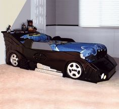 Bat Car Bed Woodworking Project Plan. This is happening people.
