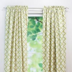 Chooty and Co Macie Leaf Curtain Panel