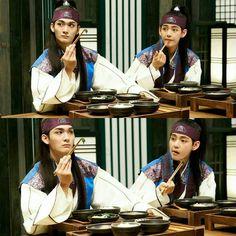 170109 Hwarang Facebook Update - Ep.7 Stills of Kim Taehyung and Jo Yoonwoo - #bangtanboys #V #Hansung #Hwarang #kimtaehyung #방탄소년단 #뷔 #김태형 #화랑 #한성