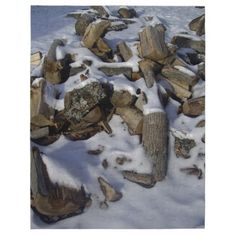 Snowy Fire Wood Puzzle