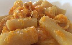 #pasta con la #zucca e #amaretti #ricettehalloween