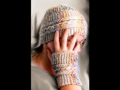 How to Loom Knit Garter Slip Chain Hat - YouTube