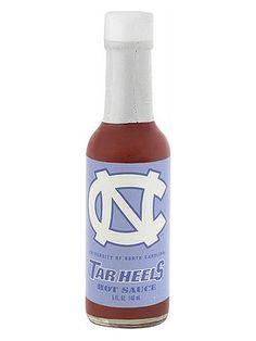 Tar Heels Hot Sauce #spicy
