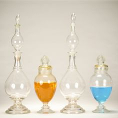 old perfume bottles can store more than perfume.