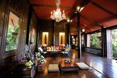 Jim-Thompson-House-Museum-Living-Room, Bangkok, Thailand