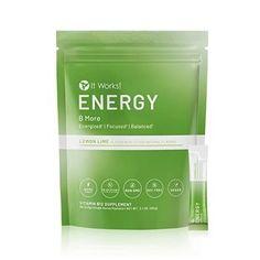 Vegan Vitamin B12, Vegan Vitamins, Vitamins For Energy, Energy It Works, It Works Global, Fiber Supplements, Berry Juice, Lemon Detox, It Works Products