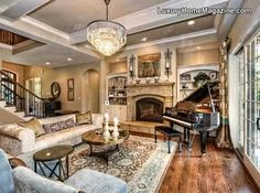 Great open floor plan, perfect for entertaining &/or just relaxing.