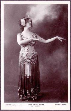 Miss Maud Allen as Salome