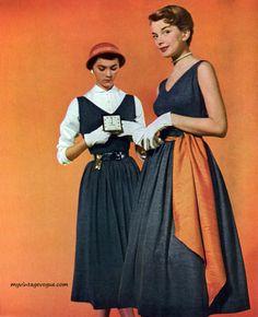 Mademoiselle Feb 1950