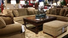 Expertly crafted in the USA, this beautiful living room set will provide a welcoming scene in your home for years with plush cushions and soft upholstery providing the ultimate in comfort. | Houston TX | Gallery Furniture |