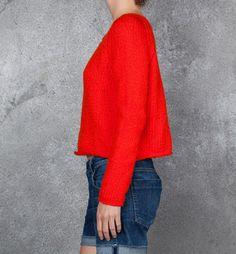 Apiece Apart Cropped Sweater