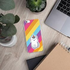 Only $20.99 USD and caticorn is on the back of your phone. #phonecase #colorful #caticorn #catlover #cat #unicorn #love #happiness #smile